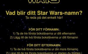 Vilken Star Wars karaktär är du?