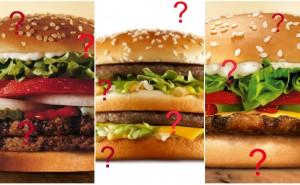Kan du gissa vilket snabbmatställe hamburgaren kommer ifrån?