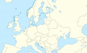 Vilket europeiskt land är det som visas på kartan?