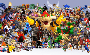 Vet du video game-karaktärernas namn?
