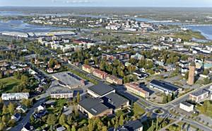 Vilken svensk småstad är störst? (Norrbotten)