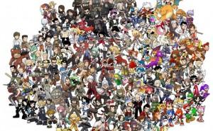 Spel-karaktärer