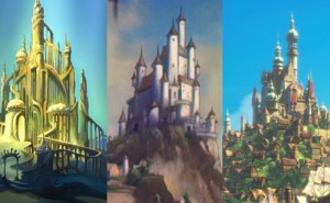 Kan du para ihop rätt slott med rätt Disney-karaktär?