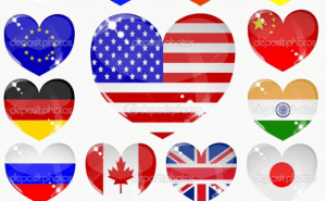 Kan du olika flaggor?