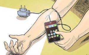 Är du  beroende av din mobil?