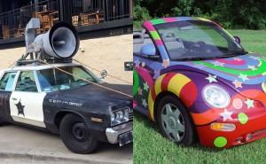 Kan du gissa vilka filmer det är som dessa bilar hör hemma i?