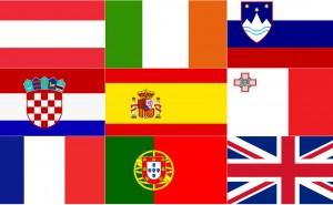Kan du alla 28 EU-ländernas flaggor?