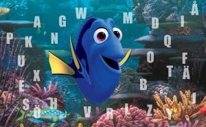 SVÅRT! Kan du hjälpa Doris att hitta den saknade bokstaven?