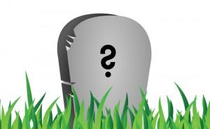 Vad kommer det att stå på din gravsten? Se efter här!