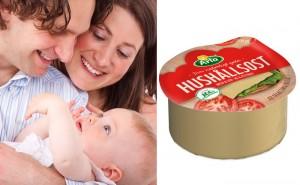 Hur många barn kommer du att få baserat på vilka ostar du väljer?