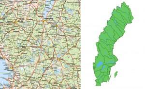 Quiz: Var ligger dessa 10 svenska städer?