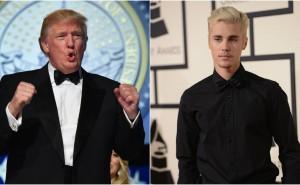 Vem sa det – Donald Trump eller Justin Bieber?