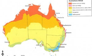 Klimatzoner Australien, svara ja eller nej