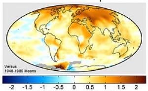 Sannolika konsekvenser av global uppvärmning