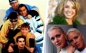 Hur mycket minns du av 90-talets popstjärnor? Testa dina kunskaper här!