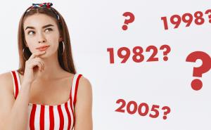 Kan du gissa året med hjälp av tre kluriga ledtrådar? Testa här!
