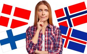 Quiz: Vilket nordiskt språk är meningen skriven på?