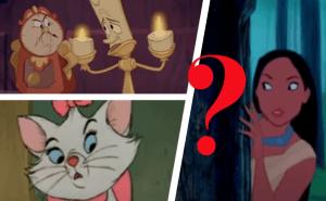 Kan du känna igen Disney-filmen genom att bara se en bild?